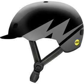 Nutcase Street MIPS Helm, darth lightnin reflective